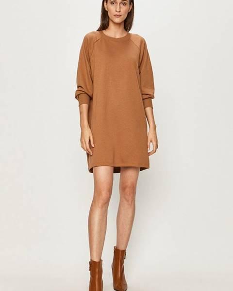 Hnedé šaty Noisy May