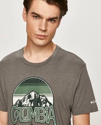 Sivé tričko Columbia