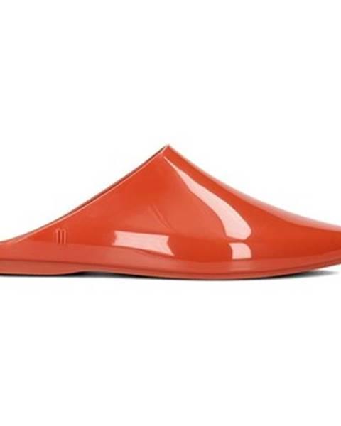 Červené sandále Melissa