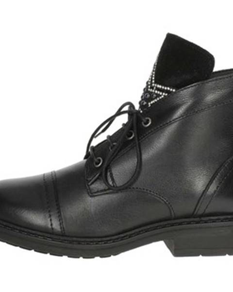 Čierne topánky Arlee Mod