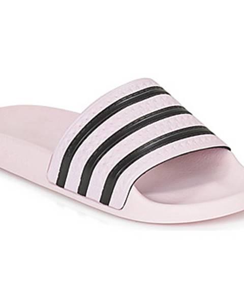 Ružové sandále adidas