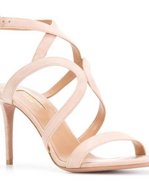 Ružové sandále Aquazzura