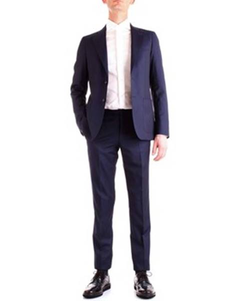 Modrý oblek Corneliani