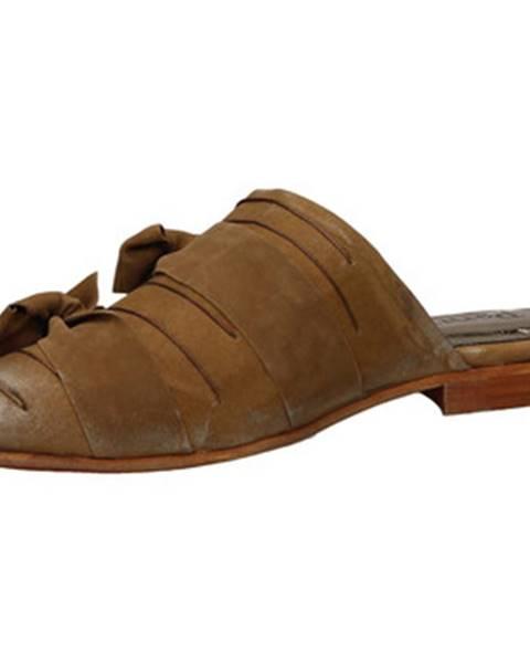 Hnedé topánky Papucei
