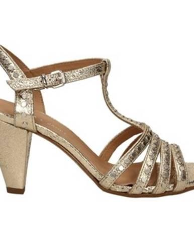 Zlaté sandále Janet Janet