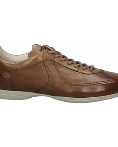 Hnedé topánky Santoni