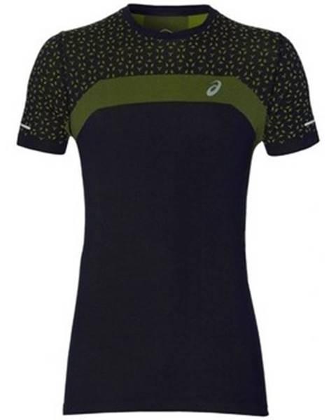 Čierne tričko Asics