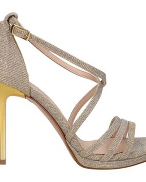 Béžové sandále L'amour