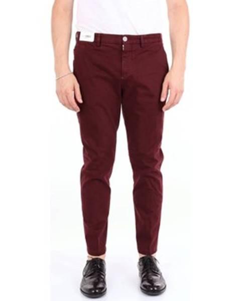 Červené nohavice Pto5