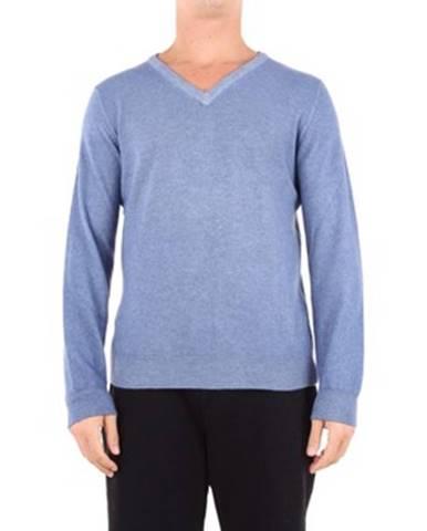 Modrý sveter Angelo Marino