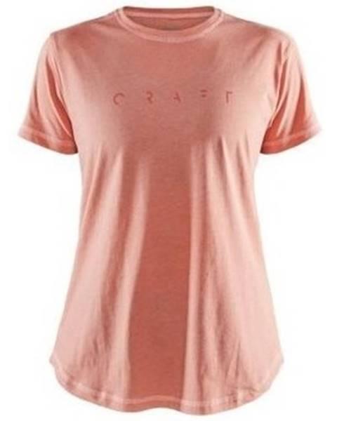 Ružové tričko Craft