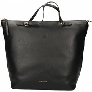 Veľká nákupná taška/Nákupná taška Coccinelle  NIKKI - BORSA PELLE VITELLO