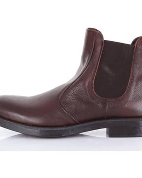 Hnedé topánky Pawelk's
