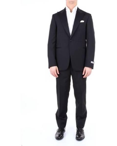 Čierny oblek Canali