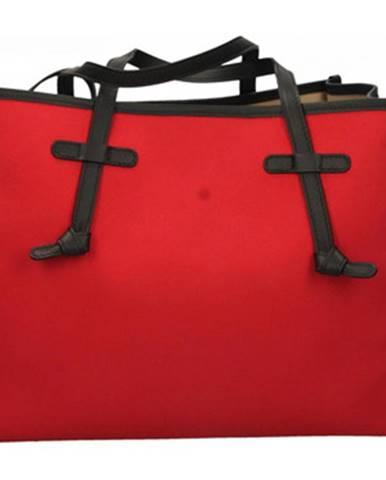 Červená kabelka Gianni Chiarini