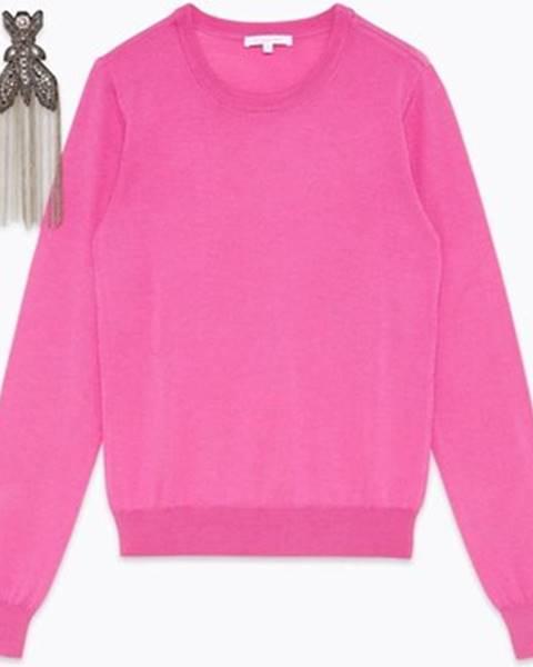 Ružový sveter Patrizia Pepe