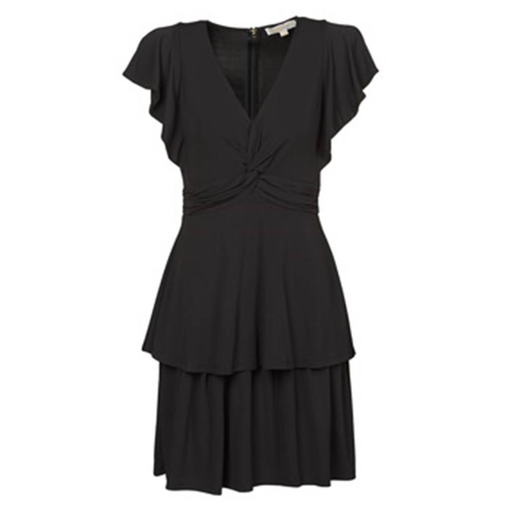 MICHAEL Michael Kors Krátke šaty MICHAEL Michael Kors  TWIST RUFFLE DRESS