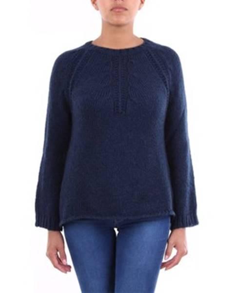 Modrý sveter Crochè