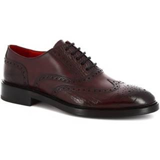 Richelieu Leonardo Shoes  9130/19 COCCO AV BORDEAUX