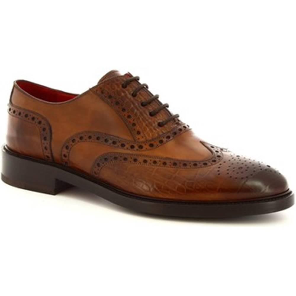 Leonardo Shoes Richelieu Leonardo Shoes  9130/19 COCCO AV BRANDI