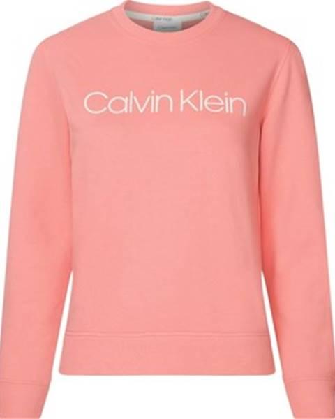 Ružová mikina Calvin Klein Jeans