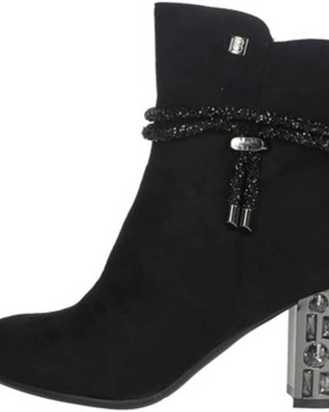 Čierne topánky Laura Biagiotti