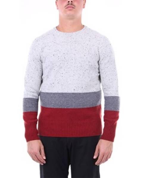 Viacfarebný sveter H953