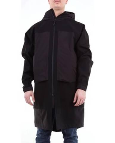 Čierny kabát Monobi