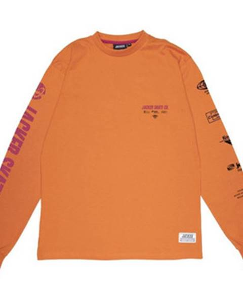 Oranžové tričko Jacker