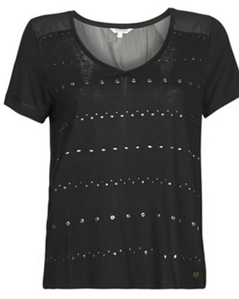 Čierne tričko Kaporal