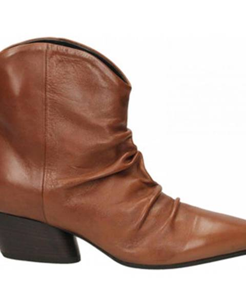 Hnedé topánky Halmanera