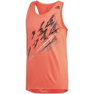 Tielka a tričká bez rukávov adidas  Speed Singlet M
