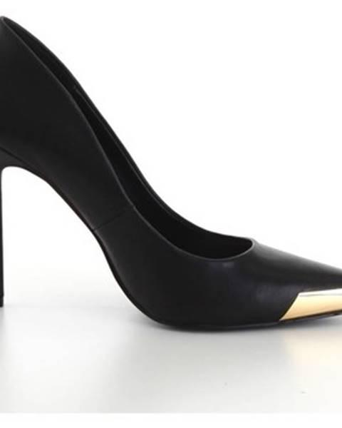 Čierne lodičky Versace