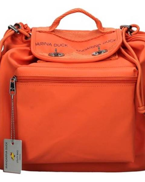 Oranžový batoh Mandarina Duck