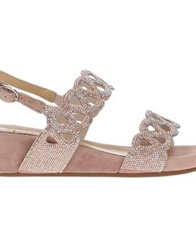 Ružové sandále Alma En Pena