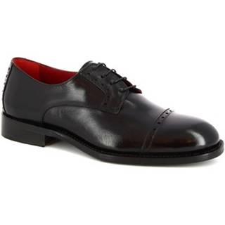 Derbie Leonardo Shoes  506 V. NERO
