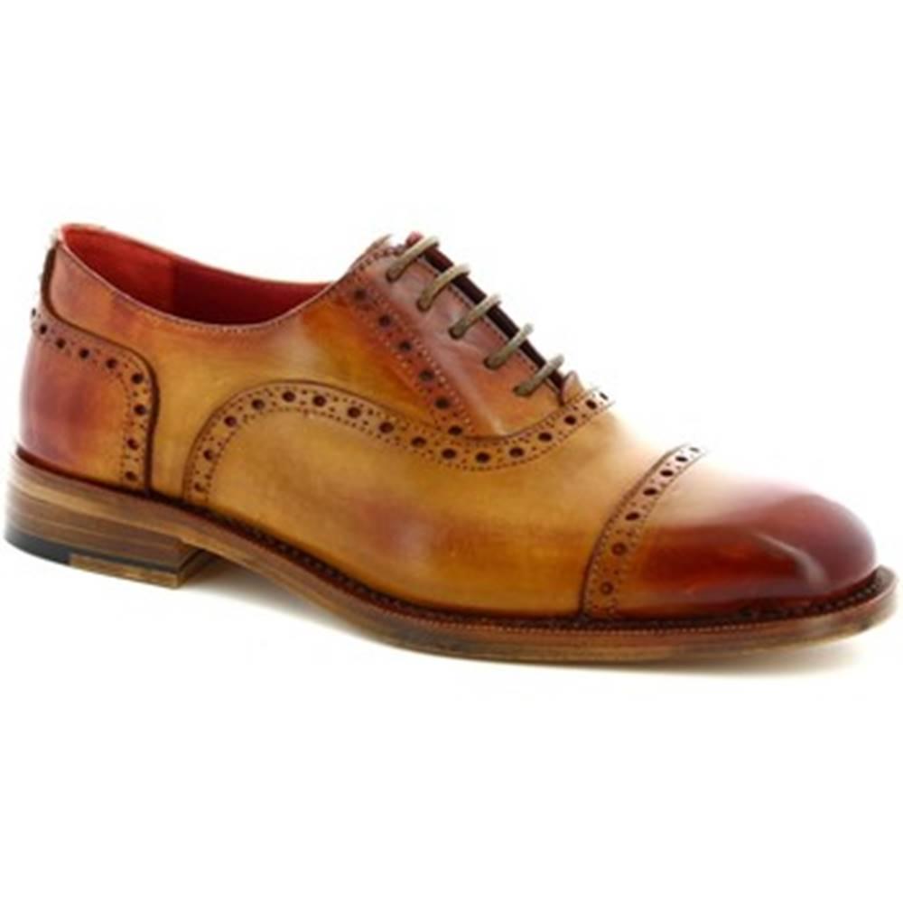 Leonardo Shoes Richelieu Leonardo Shoes  322 CUOIO