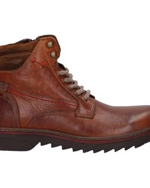 Hnedé topánky Prgman