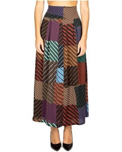 Viacfarebná sukňa Anonyme