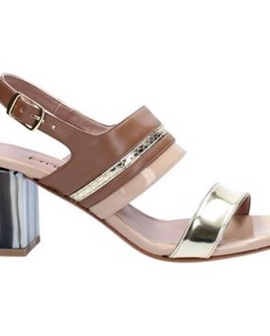Ružové sandále Albano