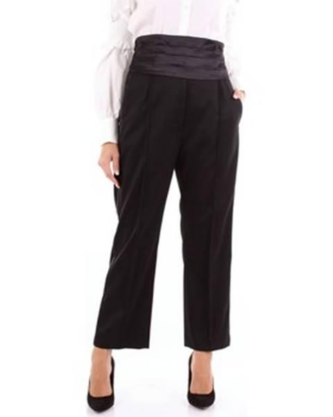 Čierne nohavice Mm6 Maison Margiela