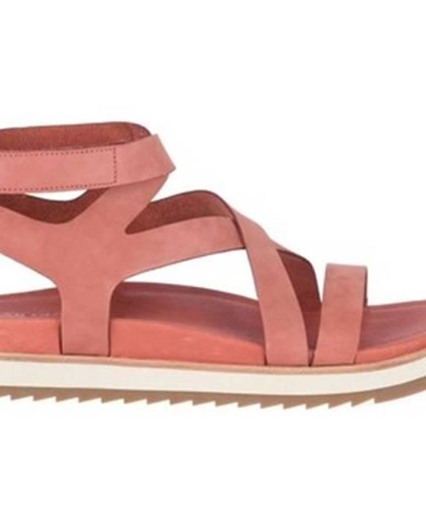 Ružové sandále Merrell