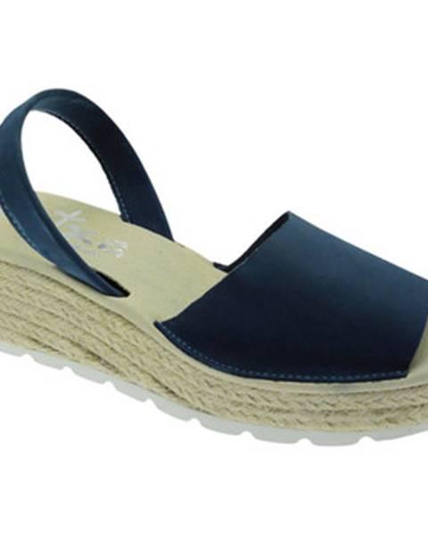 Modré sandále Atxa