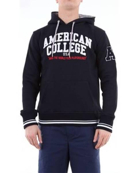 Modrá mikina American College