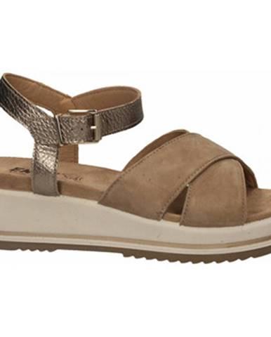 Béžové sandále Enval