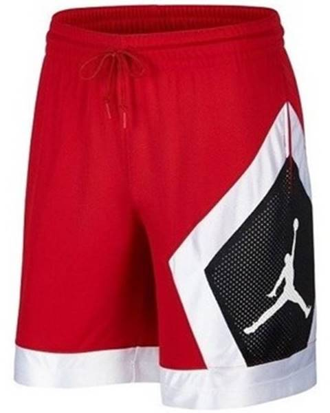Červené nohavice Nike