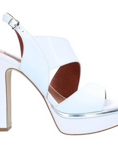 Biele sandále Luciano Barachini