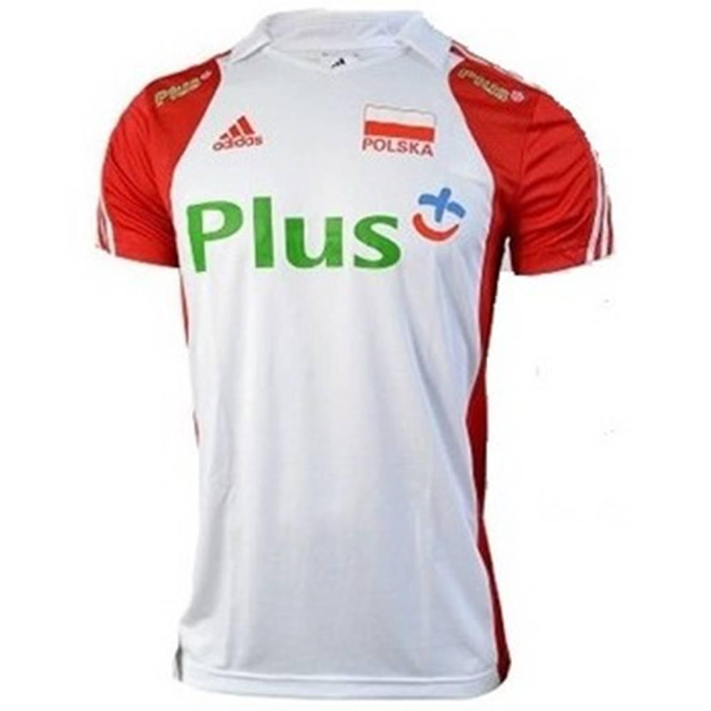 adidas Tričká s krátkym rukávom  Volleyball Poland Polo M