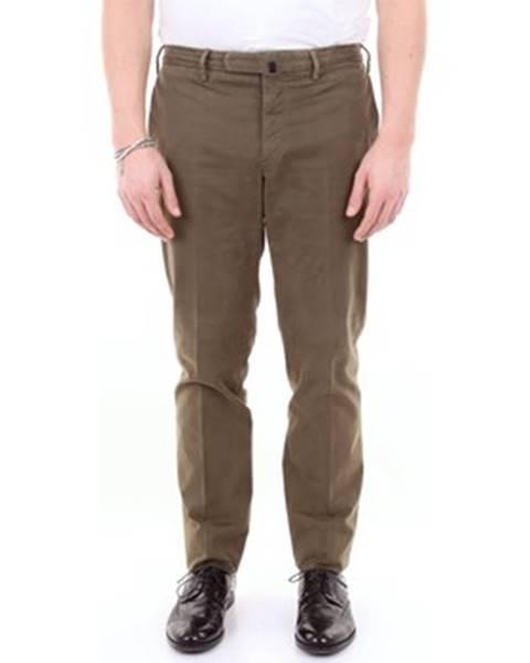 Zelené nohavice Incotex