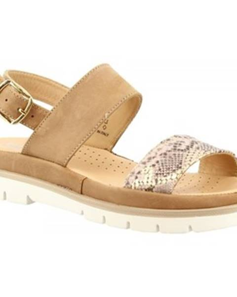 Ružové sandále Leonardo Shoes